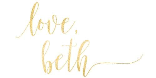 Signature Love Beth