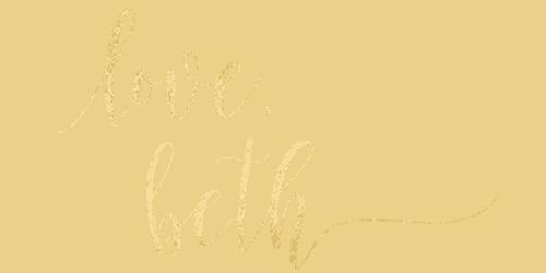 love beth signature