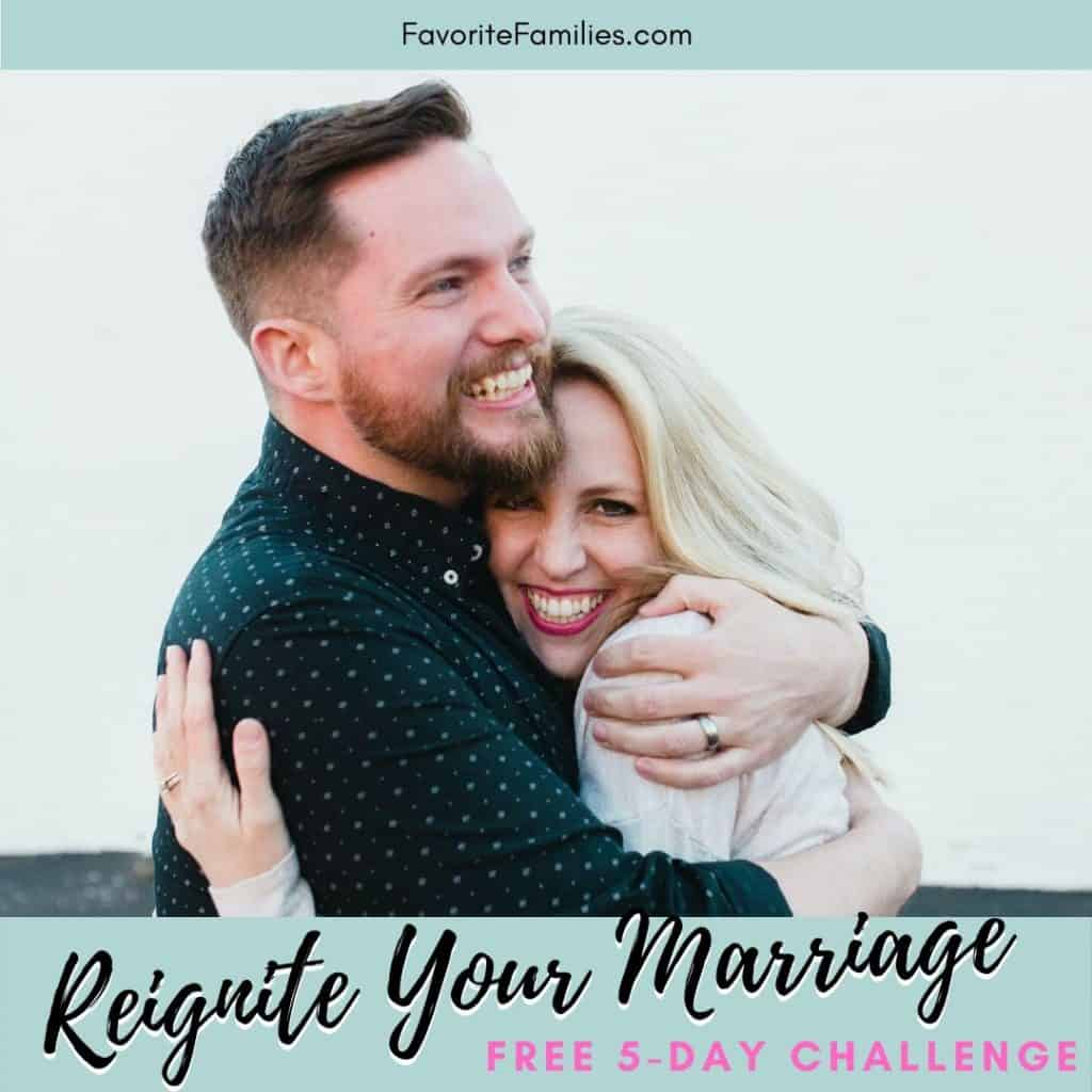 couple hugging with text overlay Reignite Your Marriage free 5-day challenge