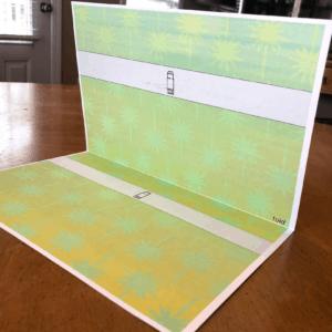 printable nativity scene paper folded in half