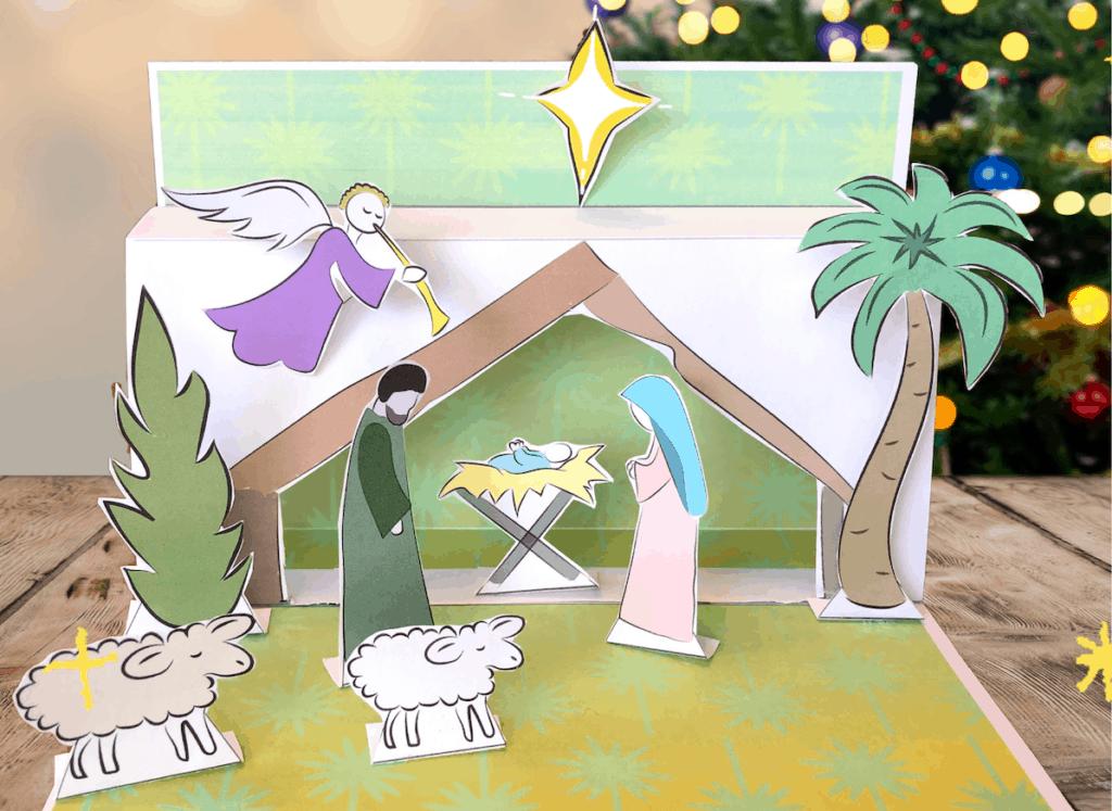 printable nativity scene